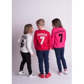 Dziecięca personalizowana bluza z numerem