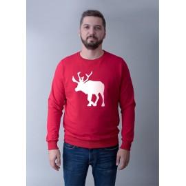 Męska bluza ze świątecznym motywem