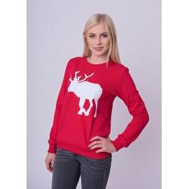 Bluza damska ze świątecznym motywem