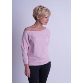 Bluza zsuwana na ramię