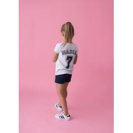 T-shirt dziewczęcy personalizowany